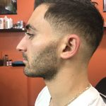 Fade with beard shape up